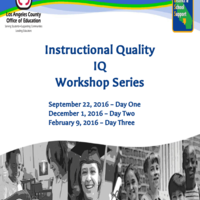 Instructional Quality (IQ) 2.0
