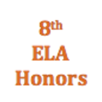 8th Grade English Language Arts Honors Curriculum