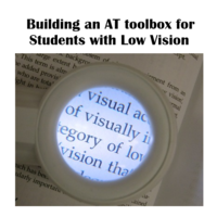Low Vision Assistive Technology