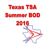 Texas TSA Summer BOD 2016