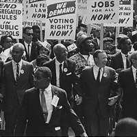 USA History of Black Civil Rights 1950's-1960's