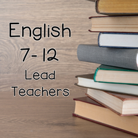 English 7-12 Lead Teachers 16-17