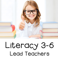 Literacy 3-6 Lead Teachers 16-17