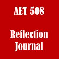 AET/508 Weekly Journal