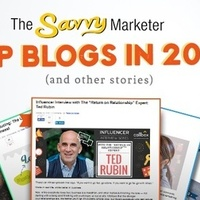 The Savvy Marketer���s Top Blogs in 2016 (and other Stories)