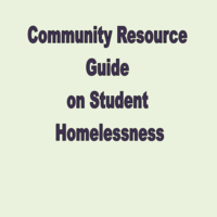 CESA 5 Community Resource Guide on Student Homelessness