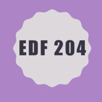 EDF 204 Binder