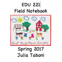 EDU 221-Field Notebook