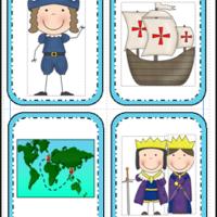 Columbus and Pilgrims - Kindergarten