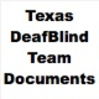 DeafBlind Team Documents