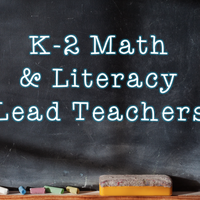 Math and Literacy K-2 Lead Teachers 17-18