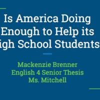 Mackenzie Brenner Senior Thesis