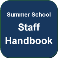 Regional Summer School Staff Handbook