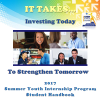 2017 Internship Student Handbook & Resources