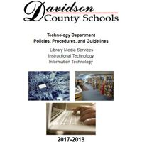 Davidson County Schools Technology Department Handbook 2017-2018