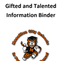 Gifted Coordinator District Information Binder
