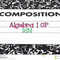 Algebra 1 CP