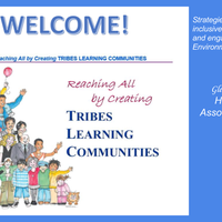 Resources, ideas, and information for implementing Tribes Learning Communities.
