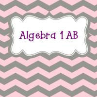 Algebra 1 AB