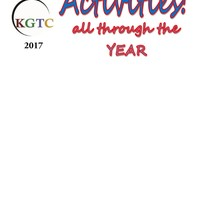 Activities all year!  KGTC fall 2017
