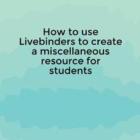 LiveBinder Presentation