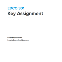 EDCO 301 Key Assignment