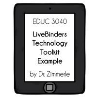 Joanna Zimmerle Technology Toolkit LiveBinder