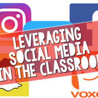 Take a look at the hottest social media apps and how we might leverage these tools for learning, not only with our students, but also for free 24/7 professional learning for teachers.