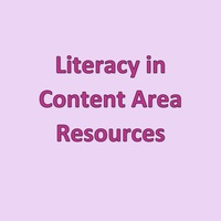 Literacy in Content Area Resources