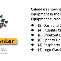 STEM Lending Center Calendars