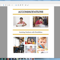 Accommodations: Assisting Students with Disabilities