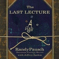 The Last Lecture by Randy Pausch resources