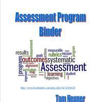 Assessment Program Binder