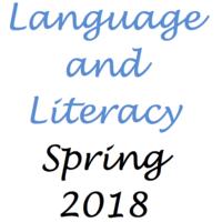 Language/Literacy Spring 2018