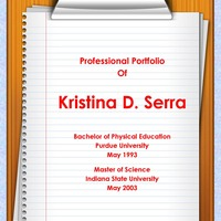 The Professional Portfolio of Kristina D. Serra
