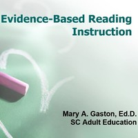 Evidence-Based Reading Instruction