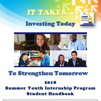 2018 Internship Student Handbook & Resources