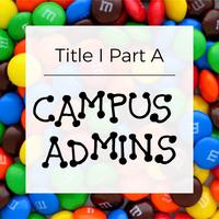 Title IA Campus Admins