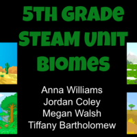 5th Grade STEAM Unit - Biomes