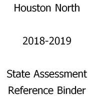 2019 State Assessment Reference Binder