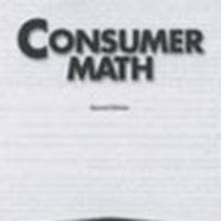 Consumer Math