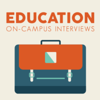 2019 Education On-Campus Interviews Student Information