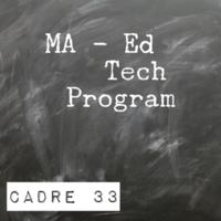 MA - Ed Tech Program