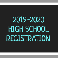 High School Registration 2019-2020