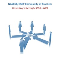 NASDSE/OSEP:  Elements of a Successful SPDG