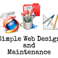 Simple Website Design and Maintenance