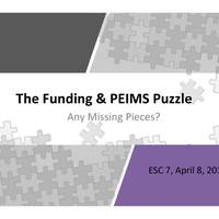 The Funding and PEIMS Puzzle