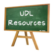 Assistive Technology and Resources meeting UDL Guidelines