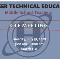 CTE Middle School PD