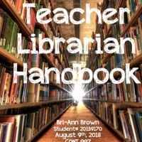Teacher Librarian Handbook- Bri-Ann Brown